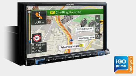 Built-in-iGo-Primo-NextGen-Navigation-INE-W720D