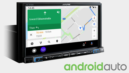 Online-Navigation-with-Android-Auto-Navi-INE-W720D